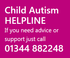 Child Autism Helpline 01344 882248